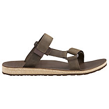 Buy Teva Universal Slide Sandals, Brown Online at johnlewis.com
