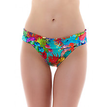 Buy Freya Under The Sea Classic Fold Bikini Briefs, Blue Multi Online at johnlewis.com