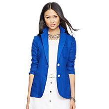 Buy Lauren Ralph Lauren Drasana Jacket, Beach Royal Online at johnlewis.com