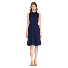 Buy Lauren Ralph Lauren Saquan Dress, Authentic Navy Online at johnlewis.com