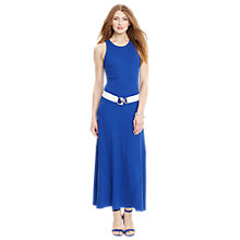 Buy Lauren Ralph Lauren Aneesa Dress, Deep Royal Online at johnlewis.com