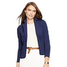 Buy Lauren Ralph Lauren Burrash Jacket, Authentic Navy Online at johnlewis.com