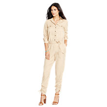Buy Lauren Ralph Lauren Koskayda Jumpsuit, New Tan Online at johnlewis.com