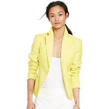 Buy Lauren Ralph Lauren Tayzon Jacket, Oasis Yellow Online at johnlewis.com