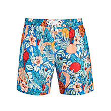 Buy Original Penguin Pineapple Print Swim Shorts Online at johnlewis.com