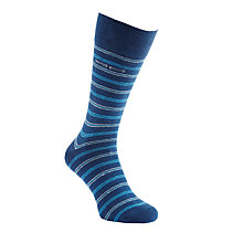 Buy BOSS Design Stripe and Plain Socks, Pack of 2 Online at johnlewis.com