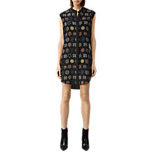 Buy AllSaints Luna Aries Dress, Black Online at johnlewis.com
