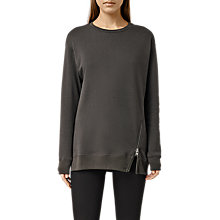 Buy AllSaints Solo Zip Sweatshirt Online at johnlewis.com