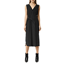 Buy AllSaints Kit Dress, Black Online at johnlewis.com