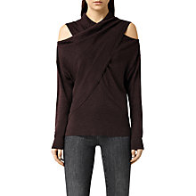 Buy AllSaints Merino Wool Kaddi Jumper Online at johnlewis.com
