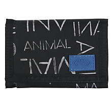 Buy Animal Children's Duens Wallet, Black/Multi Online at johnlewis.com