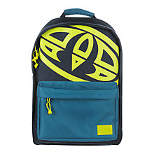 Buy Animal Children's Pump Backpack, Blue/Yellow Online at johnlewis.com