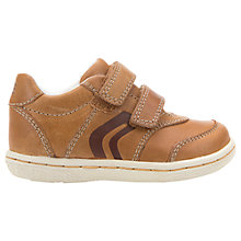 Buy Geox Children's Flick Rip-Tape Shoes, Caramel Online at johnlewis.com