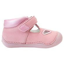 Buy Geox Children's Titum Baby Rip-Tape Shoes, Pink Online at johnlewis.com