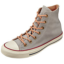 Buy Converse Chuck Taylor All Star Peached Hi Top Trainers, Dolphin Online at johnlewis.com
