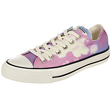 Buy Converse Chuck Taylor All Star Ox Photo Sunset Trainers, Pink Online at johnlewis.com