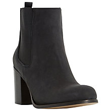 Buy Dune Prynn Block Heeled Ankle Boots Online at johnlewis.com