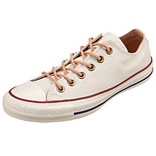 Buy Converse Chuck Taylor All Star Ox Peached Trainers, Parchment Online at johnlewis.com