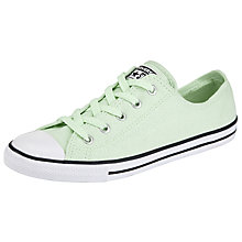 Buy Converse Chuck Taylor All Star Ox Dainty Summer Trainers, Pistachio Online at johnlewis.com