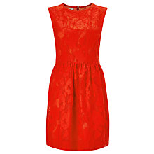 Buy Baum und Pferdgarten Alexina Lace Dress, Fiery Red Online at johnlewis.com