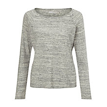 Buy Minimum Ditta Raglan Jumper, Light Grey Online at johnlewis.com