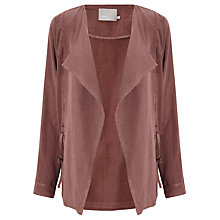 Buy Minimum Loah Drawstring Jacket. Wood Rose Online at johnlewis.com