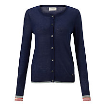 Buy Numph Renee Cardigan, Medieval Blue Online at johnlewis.com