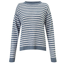 Buy Minimum Ludvikka Stripe Linen Jumper Online at johnlewis.com