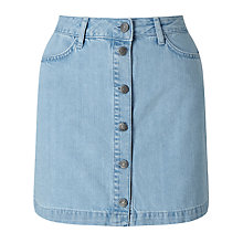 Buy Minimum Sammy Denim Skirt, Light Blue Online at johnlewis.com
