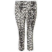 Buy Varley Pico Leopard Print Running Tights, Leopard Online at johnlewis.com