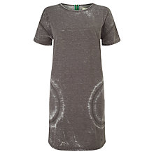 Buy Numph Sonia Sweat Dress, Grey Melange Online at johnlewis.com