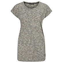 Buy Minimum Blonda Jersey Top, Light Grey Online at johnlewis.com