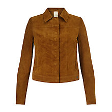 Buy Numph Cleo Suede Jacket, Trush Online at johnlewis.com
