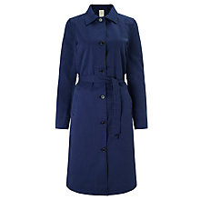 Buy Numph Katia Trench Coat, Medieval Blue Online at johnlewis.com