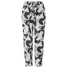 Buy Minimum Ninel Orchid Print Trousers, Surf Mint Online at johnlewis.com
