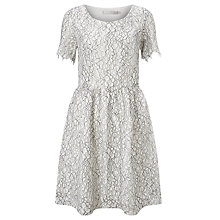 Buy Minimum Renee Lace Dress, Broken White Online at johnlewis.com
