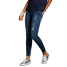 Buy Minimum Jagger Mid Rise Slim Jeans, Dark Blue Online at johnlewis.com
