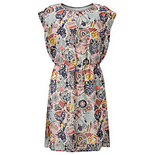 Buy Numph Sika Printed Dress, Spiced Coral Online at johnlewis.com