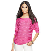 Buy Lauren Ralph Lauren Dayanna Jumper Online at johnlewis.com
