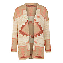 Buy Lauren Ralph Lauren Arnelle Cardigan, Cream Multi Online at johnlewis.com