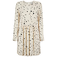 Buy Samsoe & Samsoe Vermund Dress, Cream Ink Online at johnlewis.com