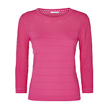 Buy Fenn Wright Manson Tongo Jumper, Pink Online at johnlewis.com