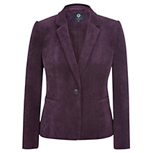 Buy Viyella Petite Cord Jacket, Purple Online at johnlewis.com