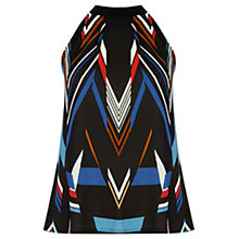 Buy Warehouse Graphic Square Neck Cami, Multi Online at johnlewis.com
