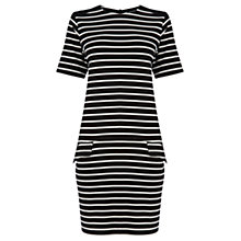 Buy Warehouse Ponte Shift Dress Online at johnlewis.com