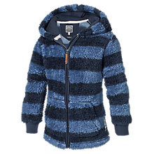 Buy Fat Face Boys' Stripe Fleece, Blue Online at johnlewis.com