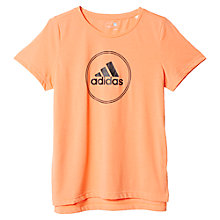Buy Adidas Logo Training Boxy Fit T-Shirt Online at johnlewis.com