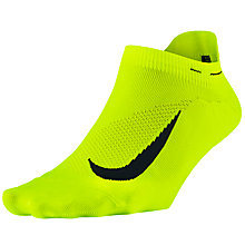 Buy Nike Unisex Elite Lightweight No-Show Running Socks Online at johnlewis.com
