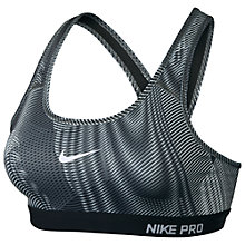 Buy Nike Pro Classic Padded Frequency Sports Bra Online at johnlewis.com