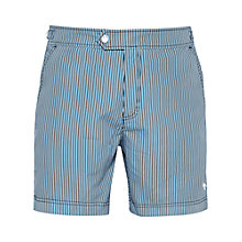 Buy Ted Baker Pinbuff Colour Stripe Swim Shorts Online at johnlewis.com